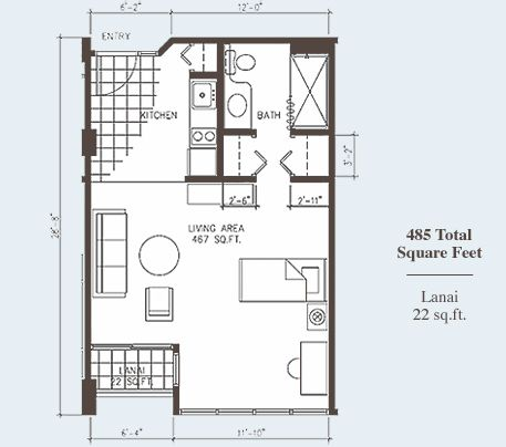 Studio apartment design studio apartments plans for Garage studio apartment plans