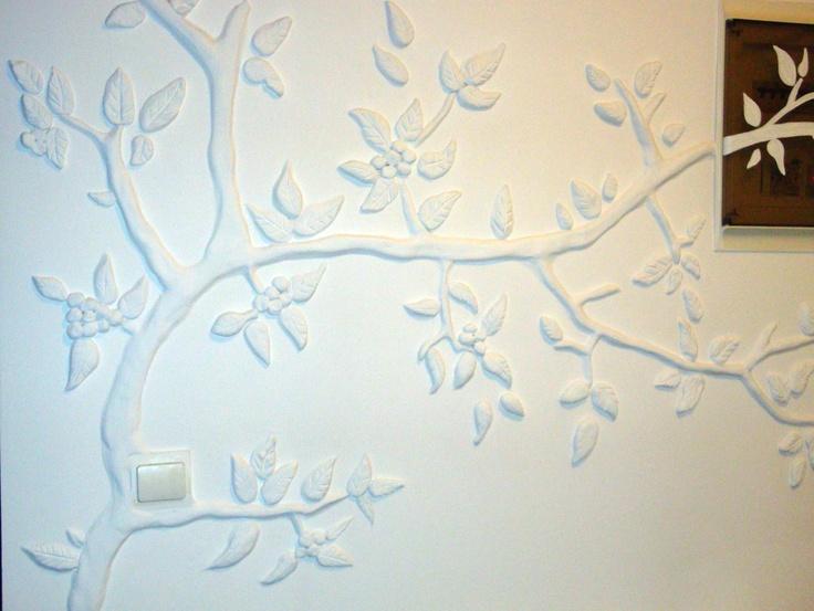 Wall Decor Gypsum : Wall decoration with gypsum by anna baramati