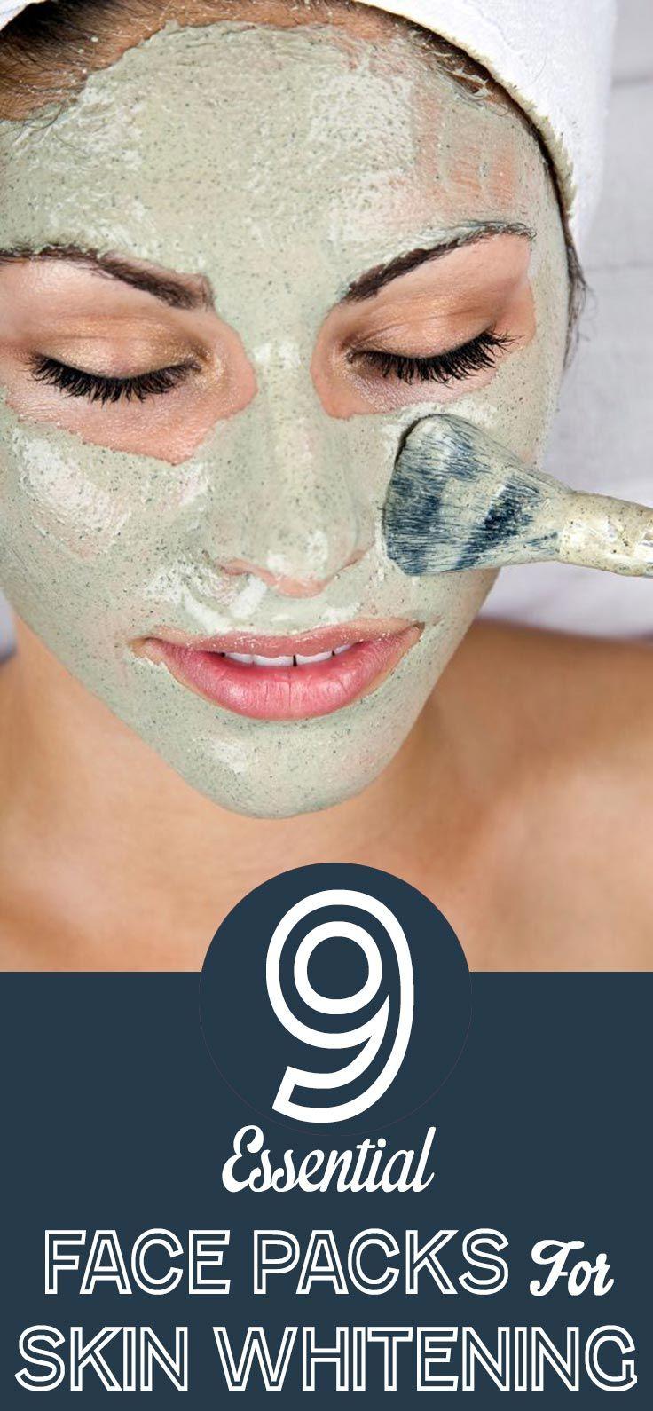 9 Essential Face Packs For Skin Whitening