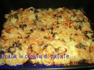 Cucinare che passione: Orata in crosta di patate