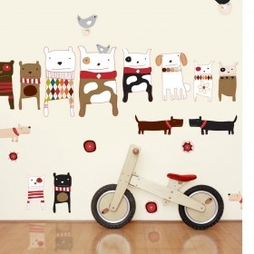 Wall decals for a boys Nursery