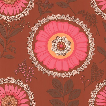 folk oneButler Wallpapers, Everyday Style, Sunsets Wallpapers, Lesprit Folk, Lacework Sunsets, Butler Lacework, Contemporary Design, Amy Butler, Floral Pattern