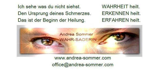 Andrea Sommer - WAHR-SAGERIN - Astrologie-Karten-Schamanismus SPIRIT COACH