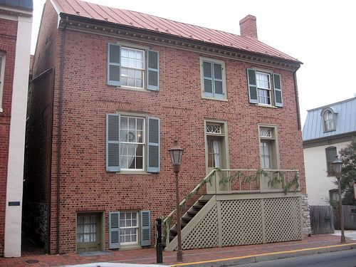 Stonewall Jackson's house in Lexington, VA