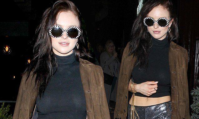 Clint Eastwood's daughter Francesca wears crop top