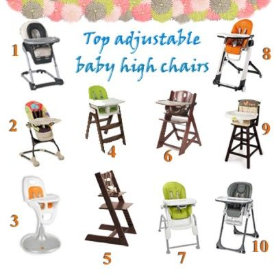 Top Baby High Chairs