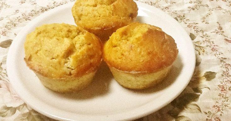 100人つくれぽ感謝!糖質制限生活のおやつや朝食として、大豆粉でマフィンを作りました。糖質1個2.8g!アレンジは無限!
