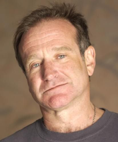 Robin Williams    Roles I love him in: Peter Banning/Peter Pan in Hook; the Genie in Aladdin; Armand Goldman in The Birdcage; Professor Keating in Dead Poet's Society    Prolific actor, Juiliard trained, very funny man