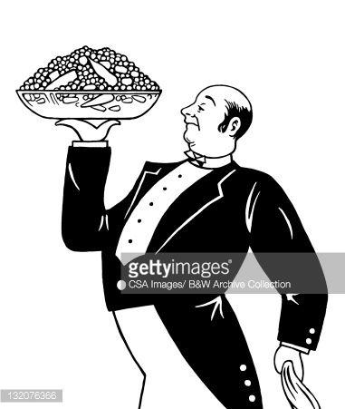 waiter cartoon 1930w - Google Search