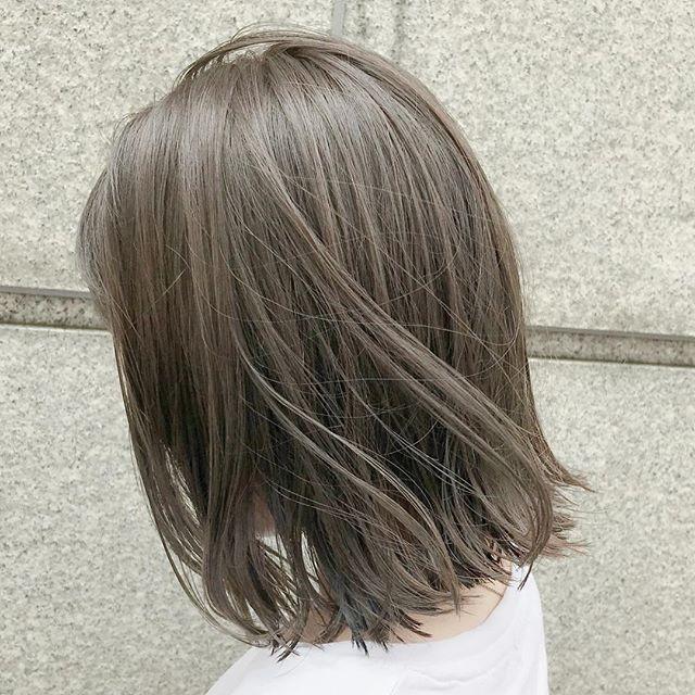 2020春夏のヘアカラーのトレンドは 人気7色 長さ別ヘアスタイル実例