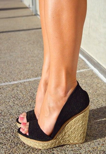 My summer espadrille wedges - LadyStyle