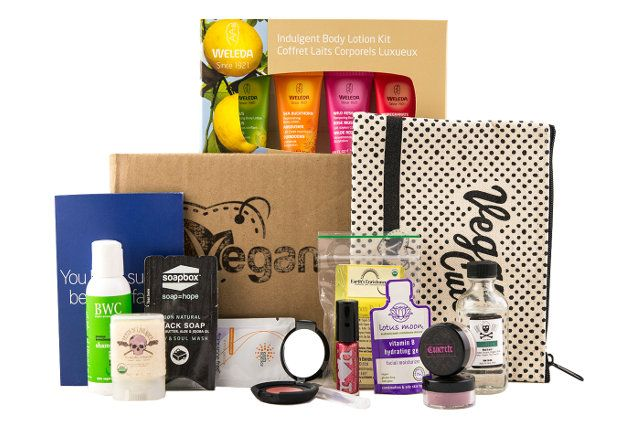 Love the look of this NEW Vegan Beauty Essentials Kit from @Vegan Cuts - weleda goodies in there, they are fantastic!
