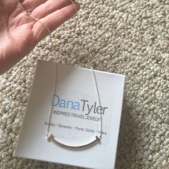 Dana Tyler sterling silver 925 bar necklace Dana Tyler sterling silver 925 bar necklace. Brand new! There are three different lengths that you can make this necklace. Dana Tyler Jewelry Necklaces