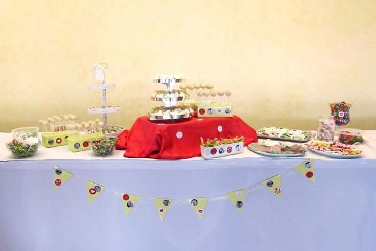 wedding candybar - sweettable