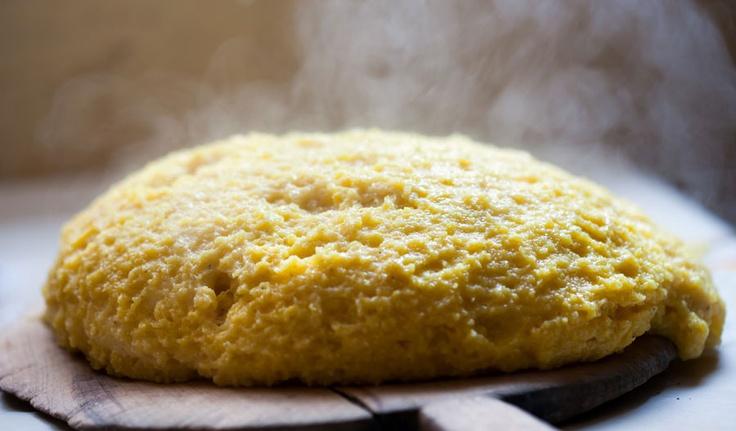 polenta http://www.venetoesapori.it/it/protagonista/ristorante-al-borgoo #italy #food #tipical #veneto