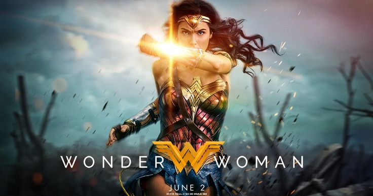 "Gal Gadot stars as the title character in the epic action adventure from director Patty Jenkins (""Monster,"" AMC's ""The Killing""), ""Wonder Woman"". ""Wonder Woman"" hits movie theaters around the world on June 2, 2017. Joining Gadot in the international..."