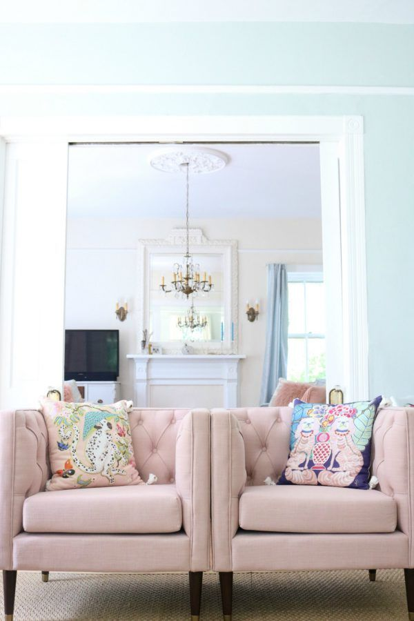 MY NEW PINK CHAIRS – NATE BERKUS FOR TARGET