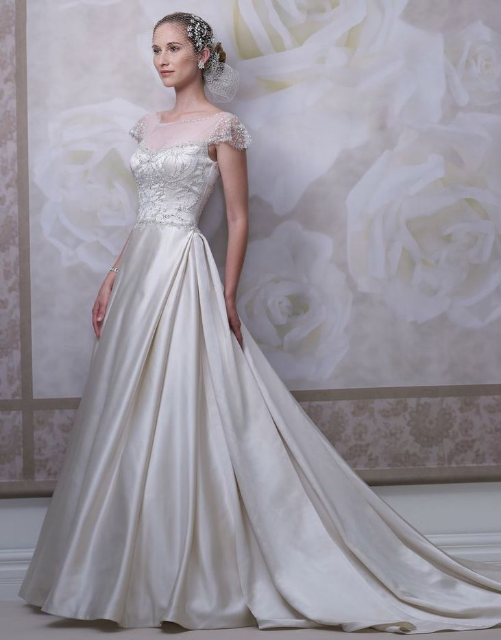 The latest bridal collection fromJames Clifford wedding dressescan be described in two words: classy timeless. See the complete collection below!
