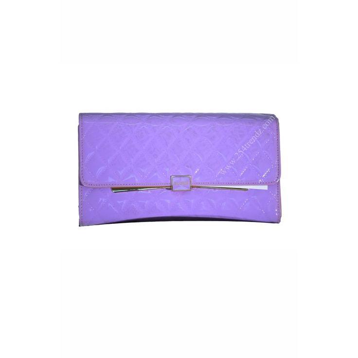 Susen Purple Clutch Bag at Kshs.2500