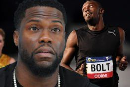 Kevin Hart And Usain Bolts Online Battle Is Getting Personal