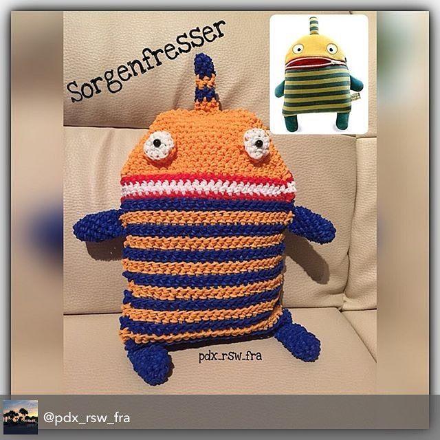 Amigurumi Monster Crochet Patterns : 1000+ images about Rainbow Loomigurumi / Amigurumi on ...