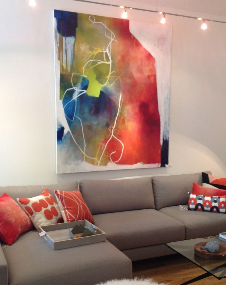 Attrahere Noted Large ArtworkModern Wall ArtLiving Room