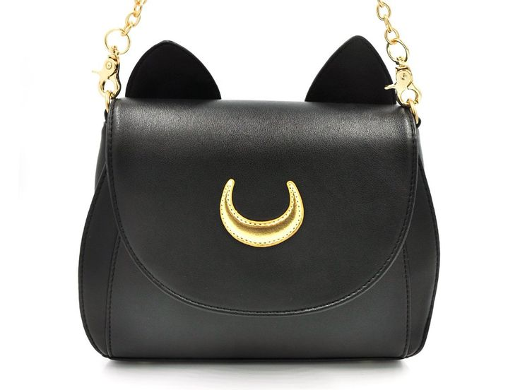 coolchange sailor moon handtasche aus pu leder mit. Black Bedroom Furniture Sets. Home Design Ideas