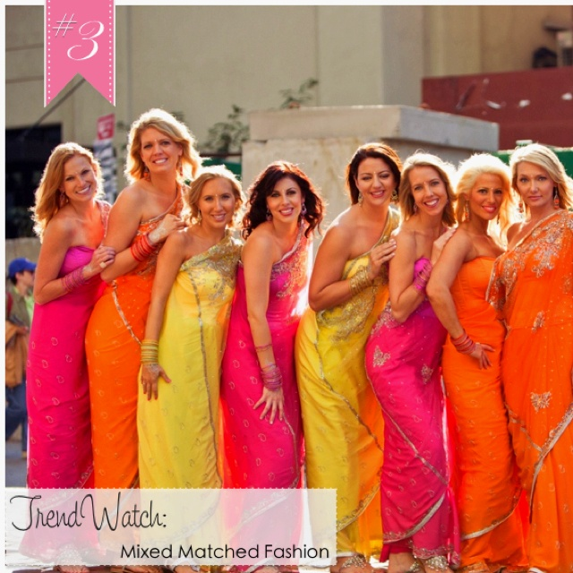 This Is How I Want My Bridesmaids To Be Dressed For The Indian Wedding