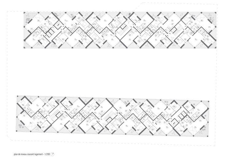 2pm architects | Apartamentos Fondu Echaine | Carouge, Suiza | 2011