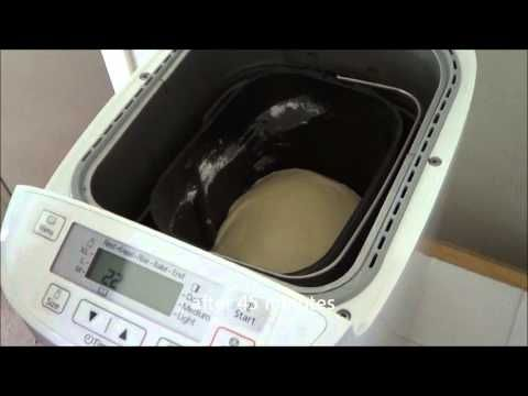 Sweet Dough Bread Making with Recipe using Panasonic SD-2501 Breadmaker