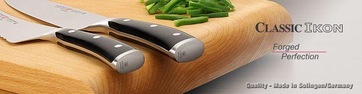 Wusthof - CLASSIC IKON Knife http://www.great-news.com/Wusthof-Classic-Ikon-Chef-s-Starter-Set-of-3.html