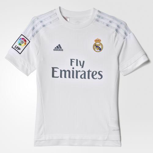 adidas - CAMISETA REAL MADRID HOME NIÑO