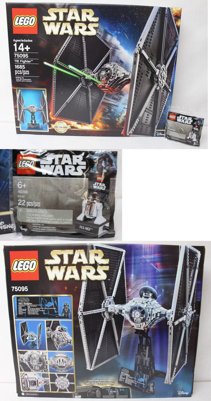LEGO Complete Sets and Packs 19006: Lego 75095 Star Wars Tie Fighter Ucs 1685Pcs + 40268 R3-M2 Promo Polybag New -> BUY IT NOW ONLY: $179.99 on eBay!