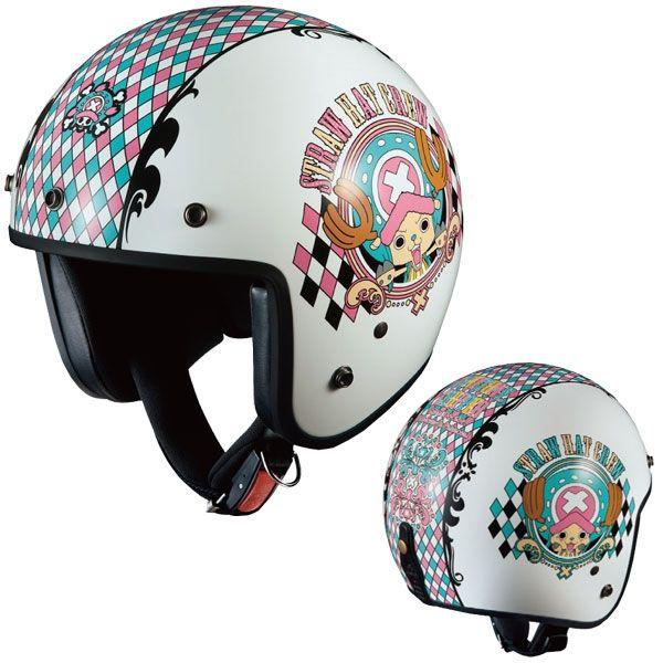 OGK kabuto OGK Kabuto オージーケーカブト BOB-K ONEPIECE チョッパー(CWH)-21 (オージーケーカブト) - バイク用品 @nettekins i love japan