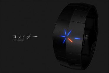Collider Watch Concept With Cool Explosion To Tell Time