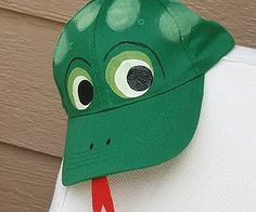 Snake Costume - Black hat for the King snake - all black clothes and then red and white duct tape for stripes