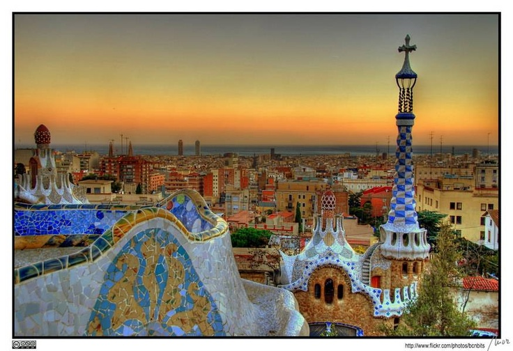 Parque Guell                                           Barcelona, Spain