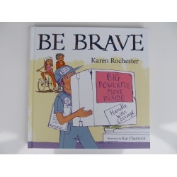 'Be Brave' by Karen Rochester is another book that I will be stocking as it has powerful messages that will help children to speak out about things that are making them feel unsafe.  It is suitable for children 8 years and onwards, and in fact I will be using it with teenagers in remote communities.