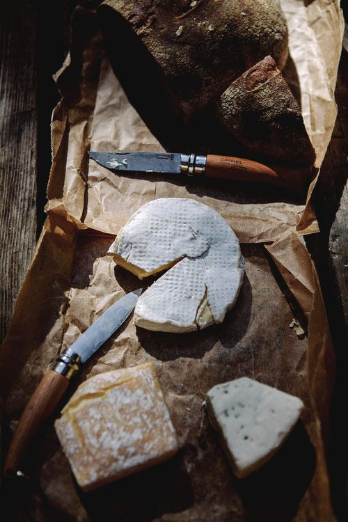 The Cape Winelands is well known for its amazing cheeses.
