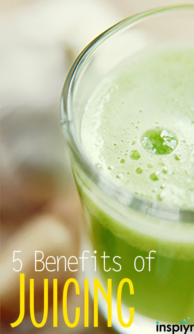 5 Benefits of Juicing by Inspiyr.com // Drinking your meals might sound a little crazy, but it's a super delicious and nutritious way to give your body what it needs. Check out the benefits of juicing and why you should start doing it regularly! #Inspiyr