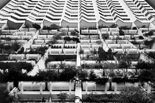Harry Glück - Wohnpark Alt-Erlaa, Vienna - 1985