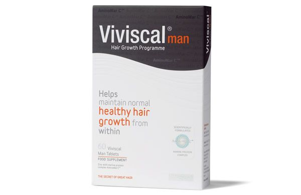 Combat the effects of stress, poor health and ageing on the hair with the Viviscal Man Supplements. Formulated with Zinc, Vitamin C and Flax Seed, expect stronger, thicker hair growth after a few months.