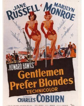 Los caballeros las prefieren rubias (1953) Dual + Subtitulos