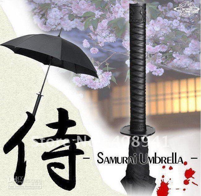 японские самурайские мечи катана зонт зонты креативные зонтики