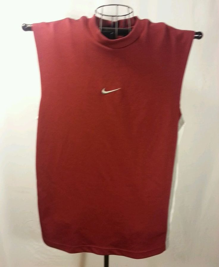 Nike Men's S Sleeveless Polyester Red running Athletic Shirt Sports  | Clothing, Shoes & Accessories, Men's Clothing, Athletic Apparel | eBay!