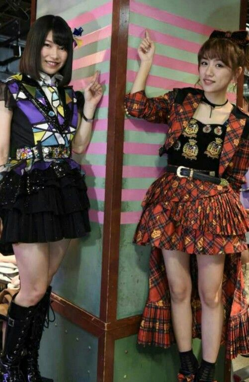 AKB48 Takamina and Yuihan Former and Present General Managers