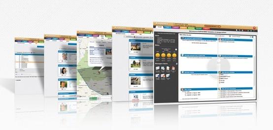 Aperçu des écrans de la nouvelle interface d'ELEPHANTBIRD Transaction, logiciel web dédié aux professionnels de l'immobilier