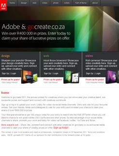 Adobe GoCreate 2011