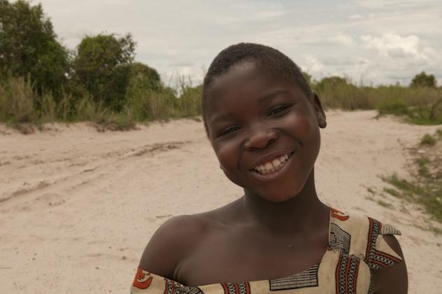 Zambian smile