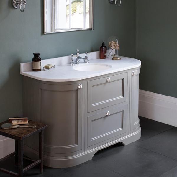 Belfry Bathroom Edington 50cm Free Standing Vanity Unit Base Freestanding Vanity Unit Vanity Units Under Sink Storage Unit